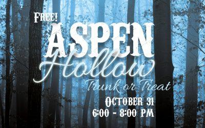 Aspen Hollow Trunk-or-Treat