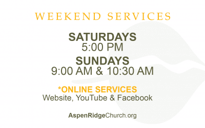 Returning to 3 Weekend Services
